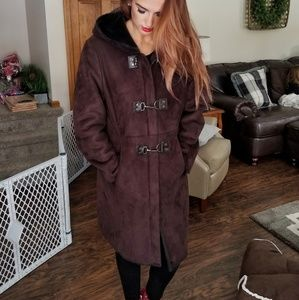 Calvin Klein Warm Plush Coat
